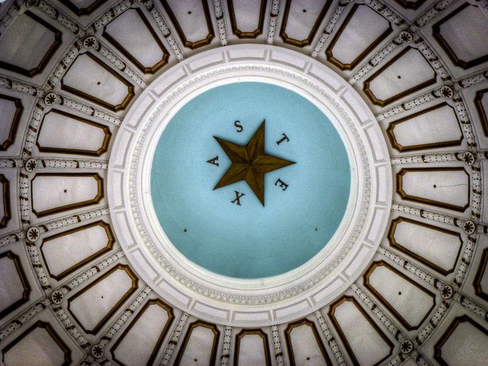 texas state capital building star