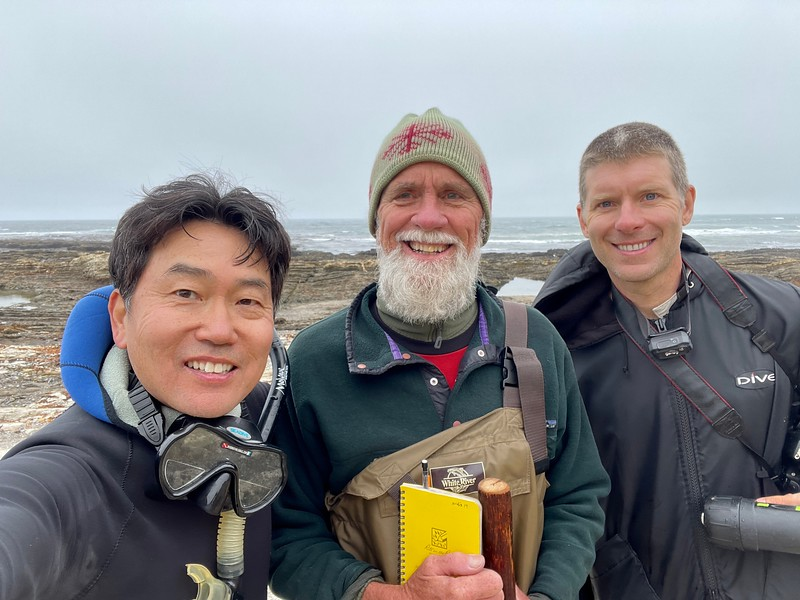 Tide pooling for nudibranchs with Jeff Goddard & Craig Hoover.<br /> Total species count was 22.<br /> Hazard Canyon Beach, Montana de Oro<br /> May 28, 2021