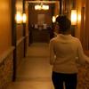 Walking into breakfast lounge at Brasa Brazilian Steakhouse