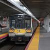 Long Island Railroad, Bombardier built, M7 EMU at Jamaica Station.