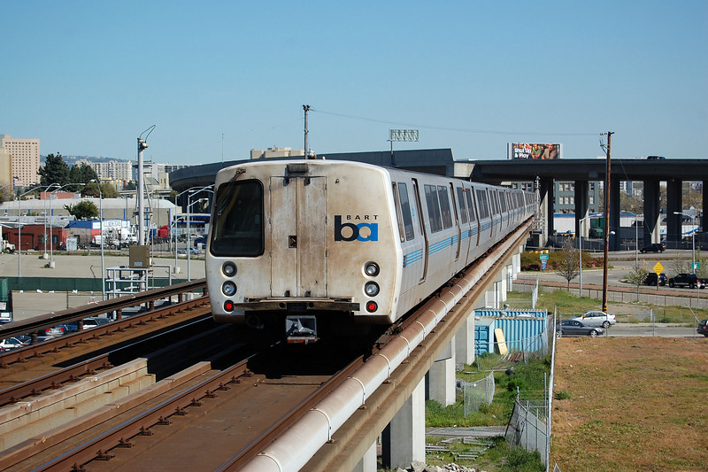 A BART 'C' Car at West Oakland.