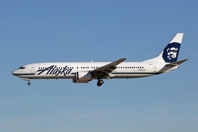 N303AS Boeing 737-990 c/n 30016 Las Vegas-McCarran/KLAS/LAS  24-01-18