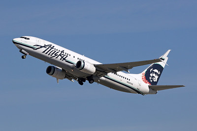 """N537AS Boeing 737-890 c/n 35204 Los Angeles/KLAX/LAX 26-01-18 """"Lei"""""""