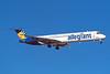 """N891GA Douglas MD-82 """"Allegiant Airl"""" c/n 49423 Las Vegas/KLAS/LAS 11-03-04 (35mm slide)"""