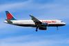 N657AW Airbus A320-232 c/n 1083 Las Vegas-McCarran/KLAS/LAS 10-03-04 (35mm slide)