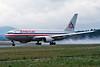 N325AA Boeing 767-223ER c/n 22326 Zurich/LSZH/ZRH 06-04-97 (35mm slide)