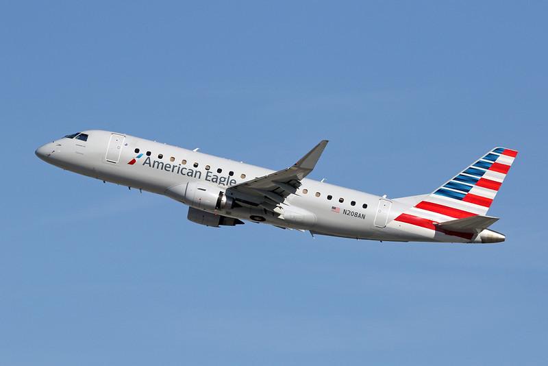 N208AN Embraer Emb-175-200LR c/n 17000494 Los Angeles/KLAX/LAX 26-01-18