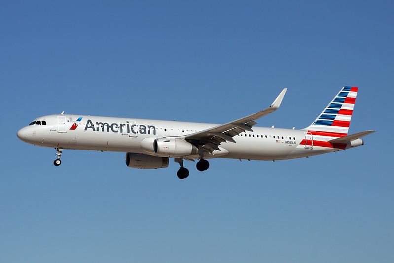 N158AN Airbus A321-231 c/n 7009 Las Vegas-McCarran/KLAS/LAS 13-11-16