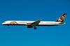 """N550TZ Boeing 757-33N """"ATA Airlines"""" c/n 32584 Las Vegas - McCarran/KLAS/LAS 11-03-04 (35mm slide)"""