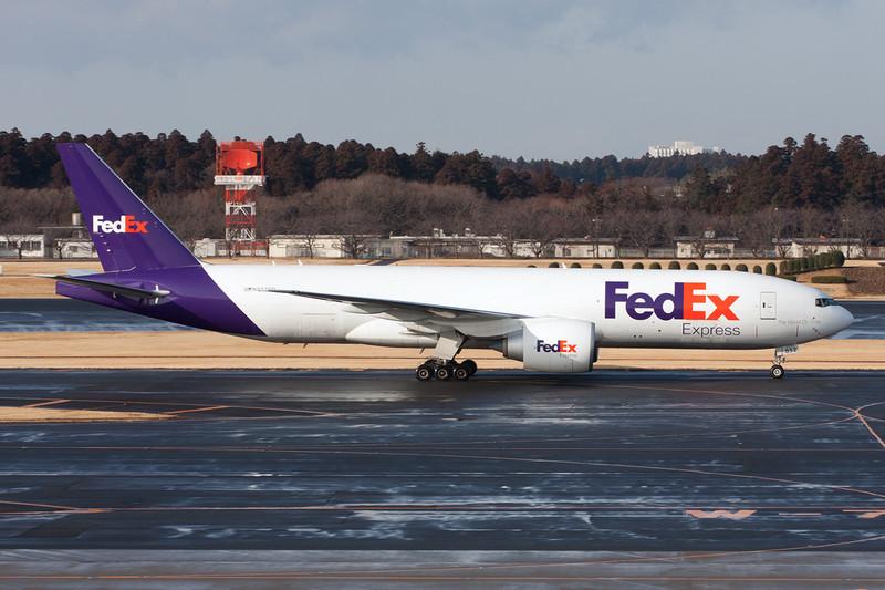 "N852FD Boeing 777-FS2 ""Federal Express"" c/n 37723 Tokyo-Narita/RJTT/NRT 25-02-11"
