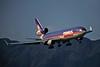 N609FE McDonnell-Douglas MD-11F c/n 48549 Hong Kong-Kai Tak/VHHH/HKG 22-10--96 (35mm slide)