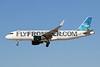 "N220FR Airbus A320-214 c/n 5661 Las Vegas-McCarran/KLAS/LAS 24-01-18 ""Finn the Tiger Shark"""