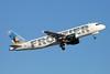 """N213FR Airbus A320-214 c/n 4704 Phoenix-Sky Harbor/KPHX/PHX 15-11-16 """"Elk"""""""