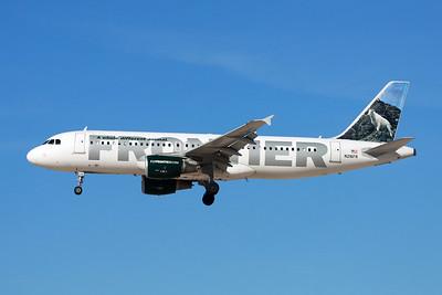 "N216FR Airbus A320-214 c/n 4745 Las Vegas-McCarran/KLAS/LAS 04-02-18 ""Cliff the Mountain Goat"""
