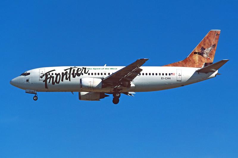 """EI-CHH Boeing 737-317 c/n 23177 Las Vegas/KLAS/LAS 10-03-04 """"Mallard"""" (35mm slide)"""