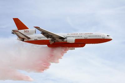 """N17085 (911) Douglas DC-10-30 """"10 Tanker Air Carrier"""" c/n 47957 Nellis/KLSV/LSV 12-11-16"""