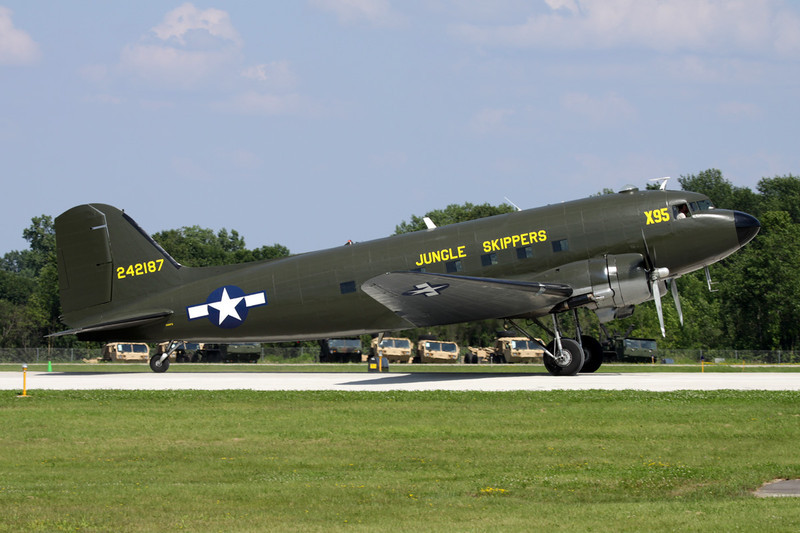 "N99FS (242187/X95) Doulgas DC-3 C-47A-10-DK ""The Liberty Foundation"" c/n 12425 Oshkosh/KOSH/OSH 26-07-10"