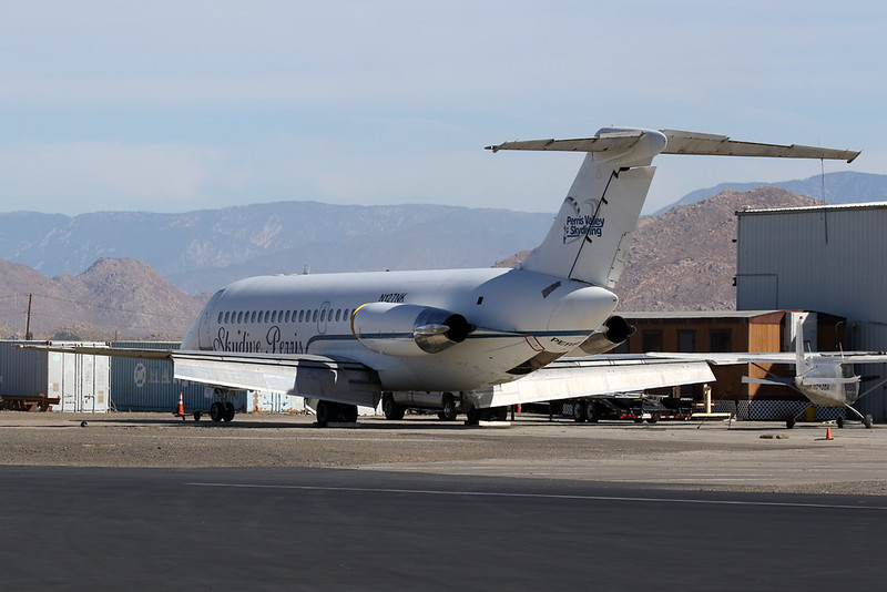 N127NK Douglas DC-9-21 c/n 47361 Perris 27-01-18