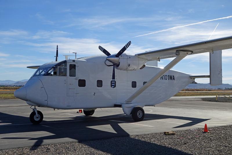 N101WA Short SC-7-3-200 Skyvan c/n SH1859 Perris 27-01-18