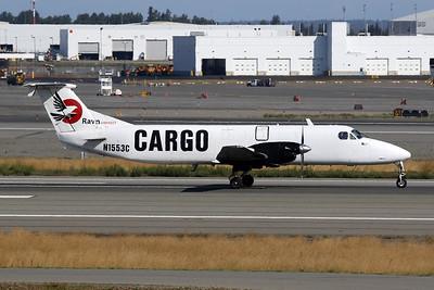 """N1553C Beech 1900C-1 """"Ravn Alaska"""" c/n UC-24 Anchorage-International/PANC/ANC 06-08-19"""