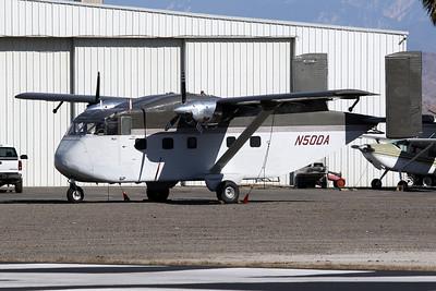 N50DA Short SC-7-3-200 Skyvan c/n SH1852 Perris 27-01-18