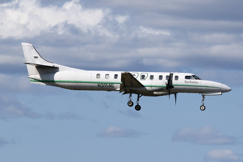 "N3114G Swearingen SA.227AC Metro III ""Trans Northern Aviation"" c/n AC-583 Anchorage-International/PANC/ANC 07-08-19"