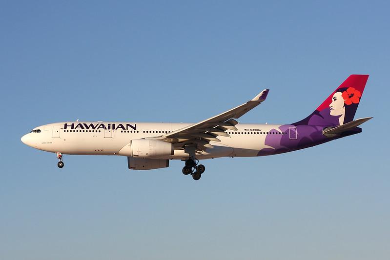 """N391HA Airbus A330-243 """"Hawaiian Airlines"""" c/n 1399 Las Vegas-McCarran/KLAS/LAS 13-11-16"""