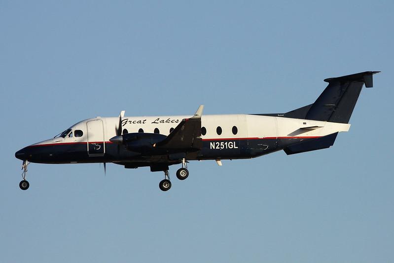 """N251GL Beech 1900D """"Great Lakes Airlines"""" c/n UE-251 Phoenix-Sky Harbor/KPHX/PHX 17-11-16"""