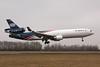"""N382WA McDonnell-Douglas MD-11F """"World Airways"""" c/n 48411 Maastricht-Aachen/EHBK/MST 11-03-10"""