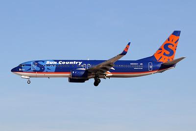 """N809SY Boeing 737-8Q8 """"Sun Country Airlines"""" c/n 30683 Las Vegas-McCarran/KLAS/LAS 24-01-18"""