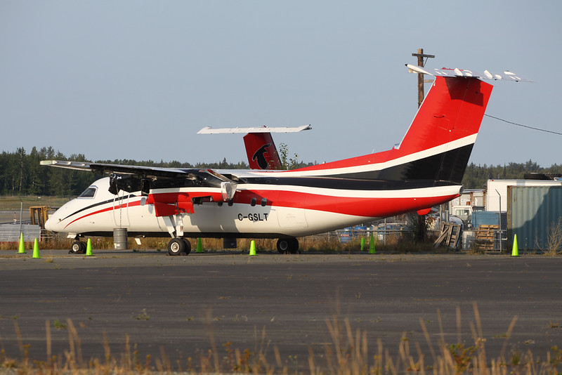 "C-GSLT de Havilland Canada DHC-8-106 ""Ravn Alaska"" c/n 233 Anchorage-International/PANC/ANC 10-08-19"