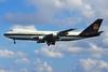 "N681UP Boeing 747-121SC ""United Parcel Service Company"" c/n 19661 Sydney-Kingsford Smith/YSSY/SYD 02-05-99 (35mm slide)"