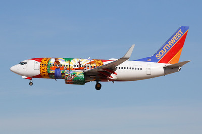 """N945WN Boeing 737-7H4 c/n 36660 Las Vegas-McCarran/KLAS/LAS 24-01-18 """"Florida"""""""