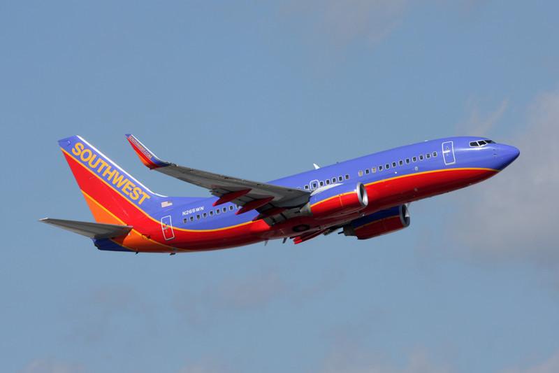N265WN Boeing 737-7H4 c/n 32522 Fort Lauderdale-International/KFLL/FLL 06-12-08