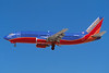 """N302SW Boeing 737-3H4 c/n 22942 Las Vegas/KLAS/LAS 11-03-04 """"The Spirit of Kittyhawk"""" (35mm slide)"""
