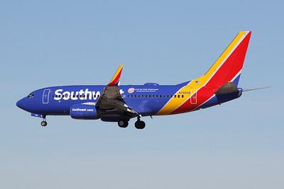 """N798SW Boeing 737-7AD c/n 28436 Las Vegas-McCarran/KLAS/LAS 24-01-18 """"Live in the Vineyard"""""""