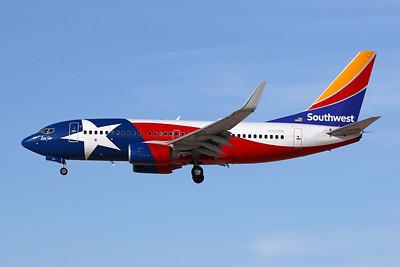 """N931WN Boeing 737-7H4 c/n 36637 Las Vegas-McCarran/KLAS/LAS 04-02-18 """"Lone Star One"""""""