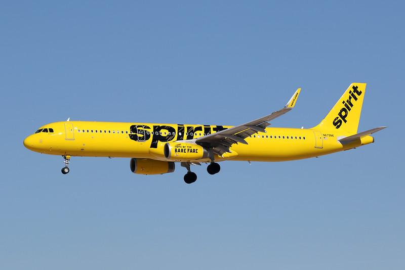 N679NK Airbus A321-231 c/n 7825 Las Vegas-McCarran/KLAS/LAS 24-01-18
