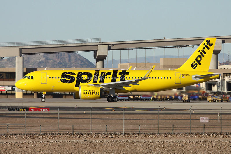 N903NK Airbus A320-271N c/n 7011 Phoenix-Sky Harbor/KPHX/PHX 17-11-16