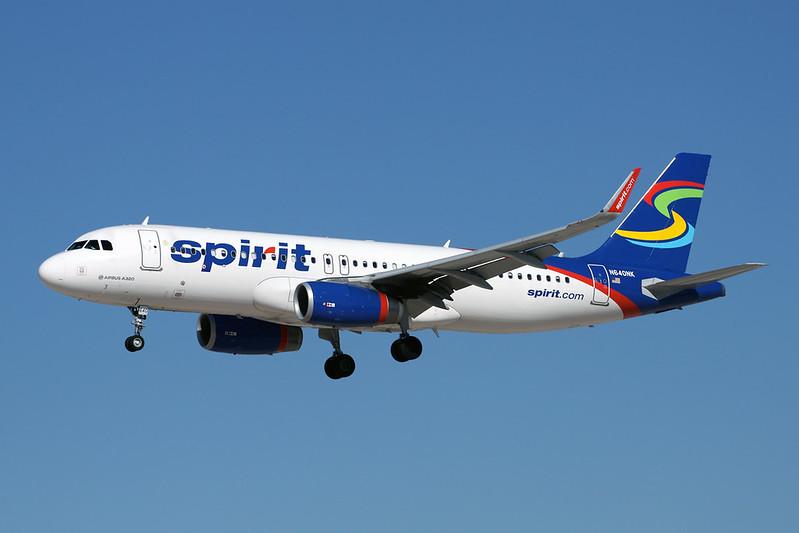 N640NK Airbus A320-232 c/n 6507 Las Vegas-McCarran/KLAS/LAS 13-11-16