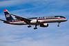 N610AU Boeing 757-2B7 c/n 27122 Las Vegas/KLAS/LAS 10-03-04 (35mm slide)