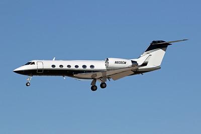 N605CM Gulfstream G4 c/n 1137 Las Vegas-McCarran/KLAS/LAS 24-01-18