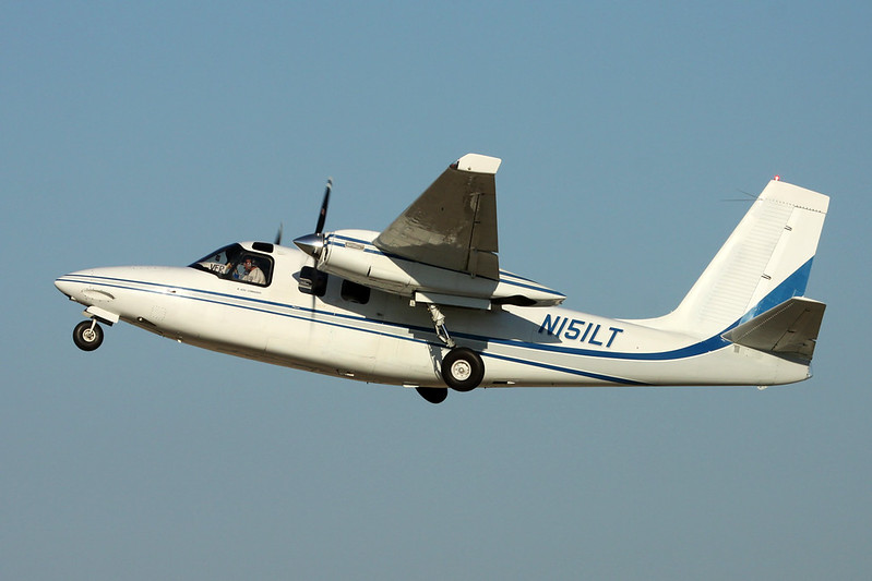 N151LT Aero Commander Twin Commander 500B c/n 1316 Oshkosh/KOSH/OSH 26-07-16