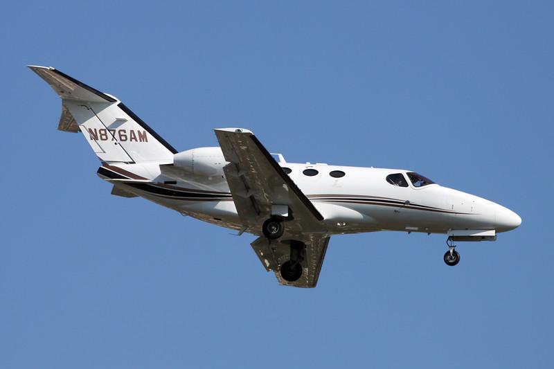 N876AM Cessna 510 Citation Mustang c/n 540-0282 Paris-Le Bourget/LFPB/LBG 10-06-15