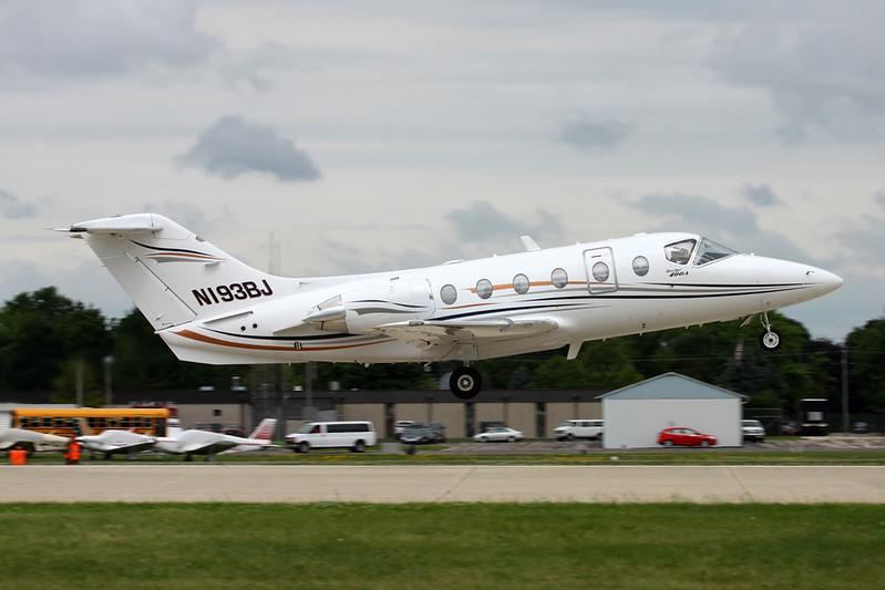 N193BJ Beech 400A Beechjet c/n RK-193 Oshkosh/KOSH/OSH 28-07-16