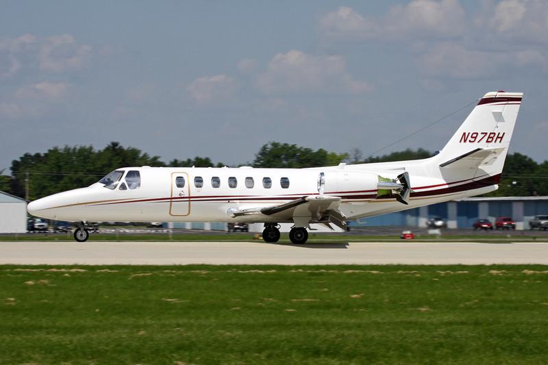 N97BH Cessna 560 Citation V Ultra c/n 560-0290 Oshkosh/KOSH/OSH 29-07-10