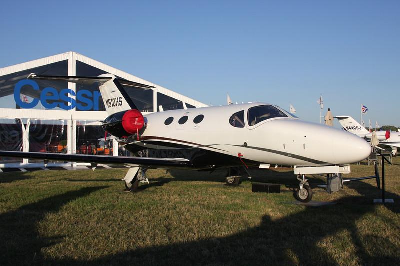 N510HS Cessna 510 Citation Mustang c/n 510-0320 Oshkosh/KOSH/OSH 28-07-10