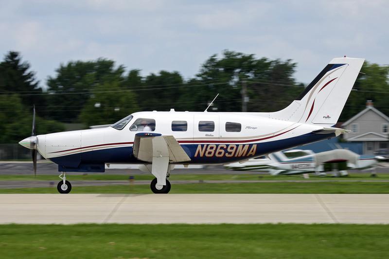 N869MA Piper PA-46-350P Malibu Mirage c/n 4636369 Oshkosh/KOSH/OSH 28-07-10