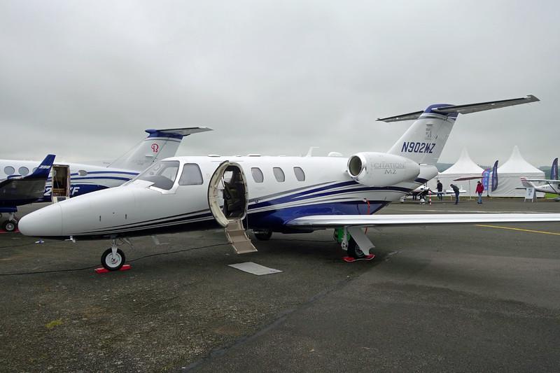 N902MZ Cessna Citation M2 c/n 525-0902 Pontoise/LFPT/POX 03-06-16