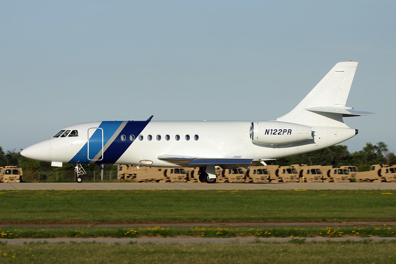 N122PR Dassault Falcon 2000 c/n 57 Oshkosh/KOSH/OSH 29-07-13